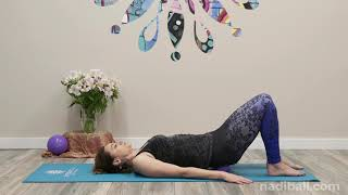 Nadi Ball: Hips and Lower Back