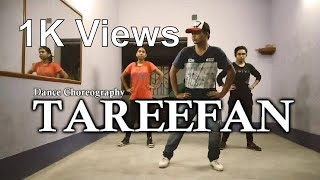Tareefan Dance Choreography (Girls) | Veere di Wedding | Subhankar Dutta | Easy moves For Beginners