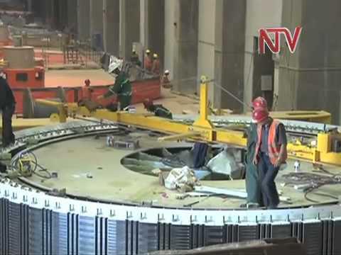 Contractors fix 3rd Bujagali Dam Turbine