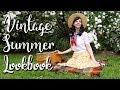 3 PATRIOTIC RETRO OUTFITS  Vintage Summer Lookbook!
