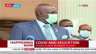 COVID-19 and Education: CS Magoha urges parents with children in private schools to negotiate