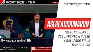 ¡ASÍ LO VIVIERON! No te pierdas las reacciones de #Gallardo y #Russo durante el #Superclásico