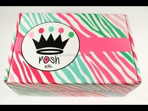 Posh Pak August 2016 Unboxing – Teen Box @POSHPAKdotcom
