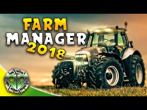 FARMING MANAGER 2018 : BANISHED MEETS FARMING SIMULATOR : Farming Manager 2018 Gameplay BETA