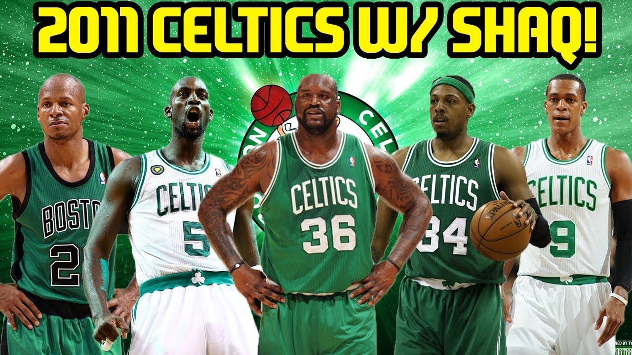 2011 CELTICS! SHAQ JOINS CELTICS! NBA 2K17 MYTEAM ONLINE GAMEPLAY ... f19e74f60