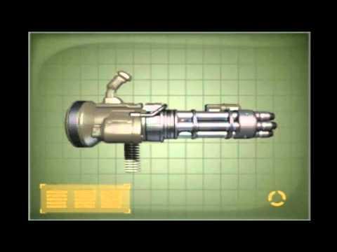 Doom 3 Uac Chaingun Youtube