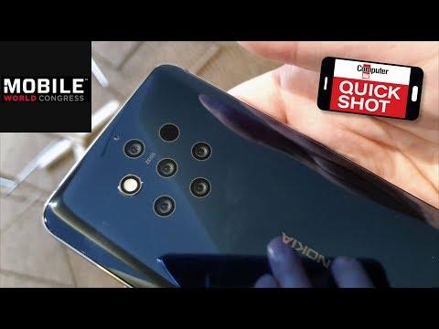 Fünf Kameras: Nokia 9 PureView im Video-Hands-on!