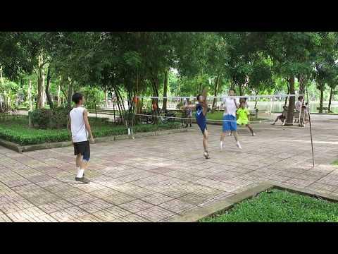 Đá cầu lưới Nam Định
