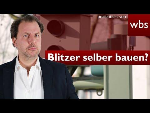 Darf ich einen selbstgebauten Blitzer aufstellen? | Rechtsanwalt Christian Solmecke