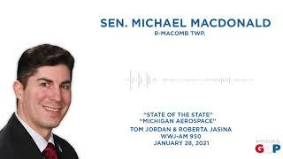 Sen. MacDonald joins WWJ to talk vaccine rollout, #LetThemPlay