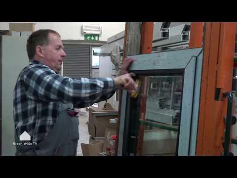 Izdelava PVC oken
