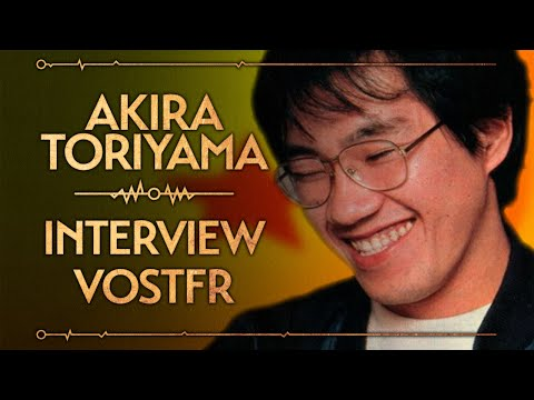 BONUS : Interview Akira Toriyama (Dragon Ball) VOSTFR