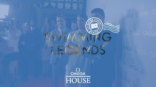 OMEGA House at Rio 2016 - Swimming Legends with Michael Phelps, Chad Le Clos and Alex Popov