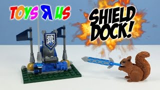 LEGO Nexo Knights Toys R Us February 2016 Giveaway Shield Dock Set Build