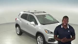 182762 - New, 2018, Chevrolet Trax, Premier, AWD, Silver, Test Drive, Review, For Sale -