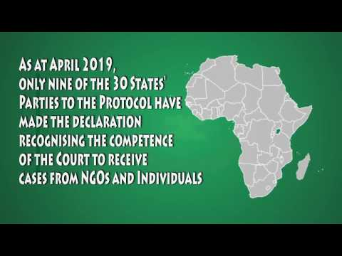 Basic facts - African Court on Human and Peoples' Rights