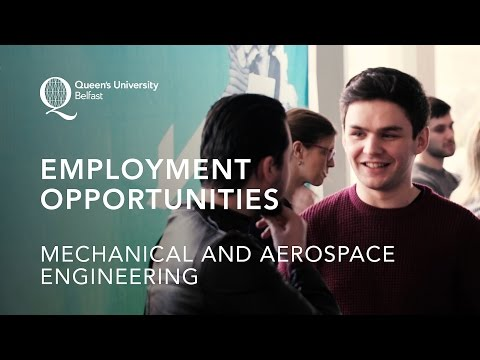 Employment Opportunities in Mechanical and Aerospace Engineering