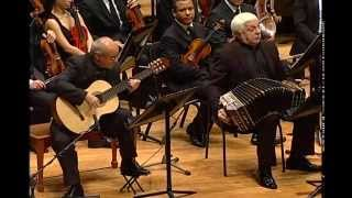 Double Concerto for bandoneon, guitar and string orchestra by Astor Piazzolla (1921-1992)