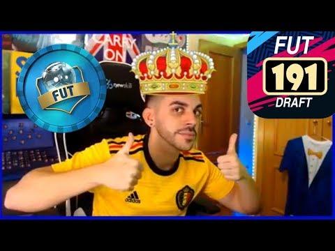 DJMARIIO CONSIGUE EL RECORD DE FUT DRAFT 191 EN FIFA 19