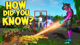TELLING PLAYERS LOOT THEY CAN'T SEE!! (REAL Fortnite Magic!)