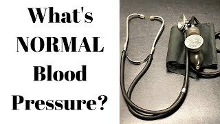 What's a normal blood pressure?