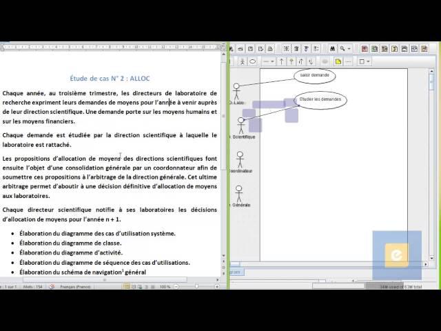 Etude de Cas ALLOC : Diagramme de cas d'utilisation