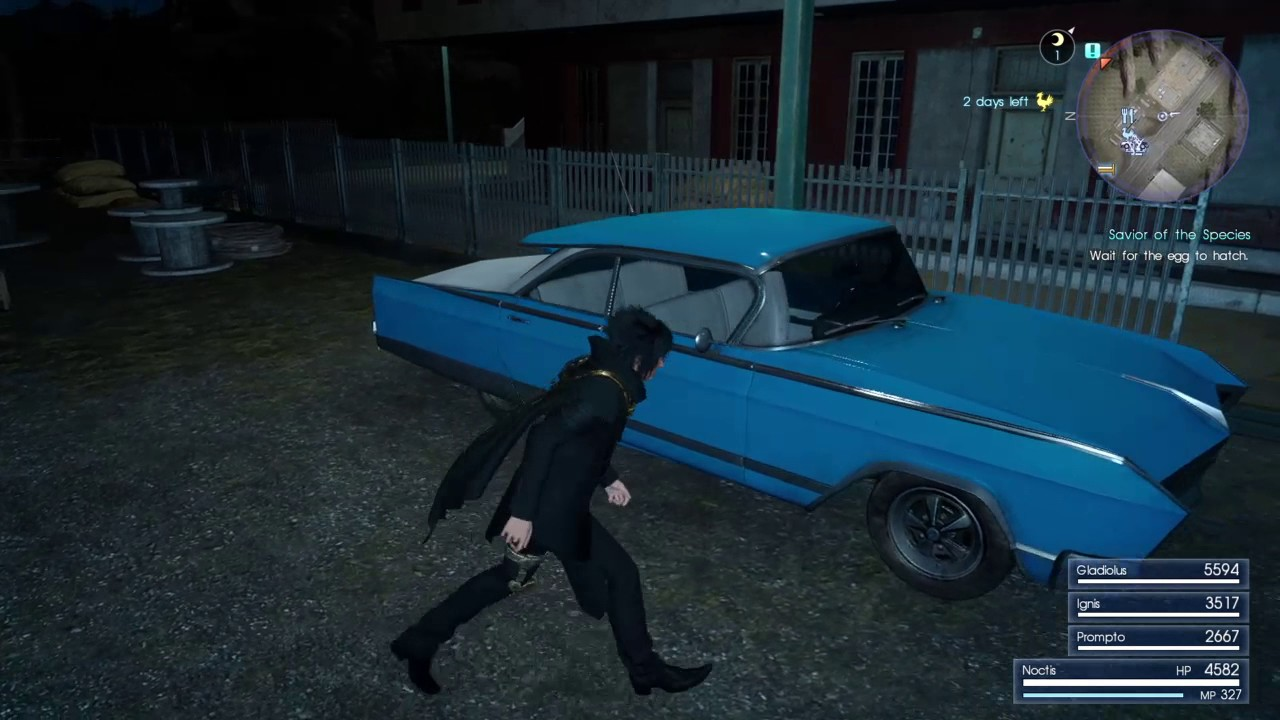 FINAL FANTASY XV - Flickering Graphics after 1 03 patch