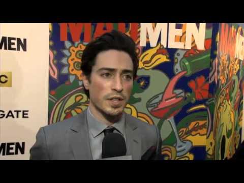 Ben Feldman Michael Ginsberg   interview  'Mad Men' season 7 about cross dressing Video