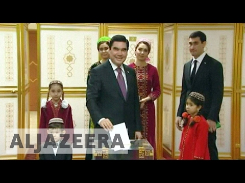 Long-time leader tipped to win Turkmenistan vote