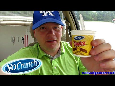 Reed Reviews YoCrunch Vanilla Yogurt With Twix