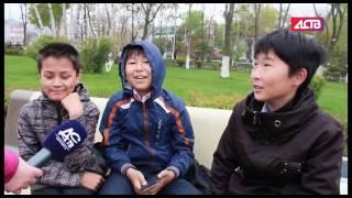 «Наш день»: Первые прощальные звонки для школьников прозвенели в Южно-Сахалинске