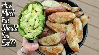 HOW MUCH FAT SHOULD YOU EAT? // Why I Eat a Low Fat Diet ⭐