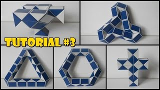 Rubik's Twist 24 Tutorial #3 - Falcon - Propeller - Cross - Triangle - Hexagon