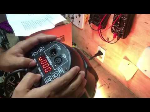 Review Par Led RGBW 54x3w Fênix Iluminação Profissional