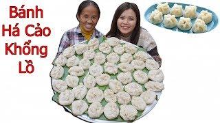 Bà Tân Vlog -  Làm Mâm Bánh Há Cảo Siêu To Khổng Lồ