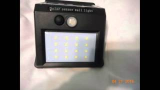 16 LED Solar Light sold by Zeefo