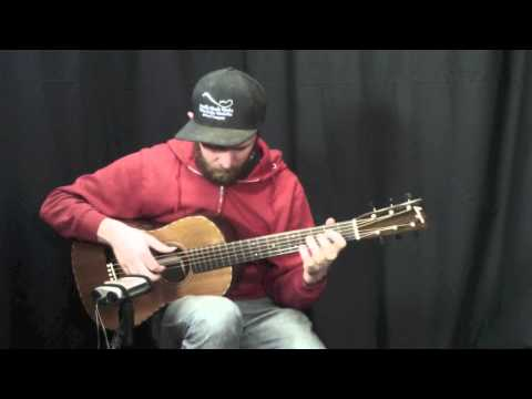 Acoustic Music Works Guitar Demo - Bourgeois Piccolo Parlor, Redwood, Claro Walnut