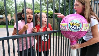 TIANA'S GIANT LOLLIPOP ESCAPED FROM JAIL!!