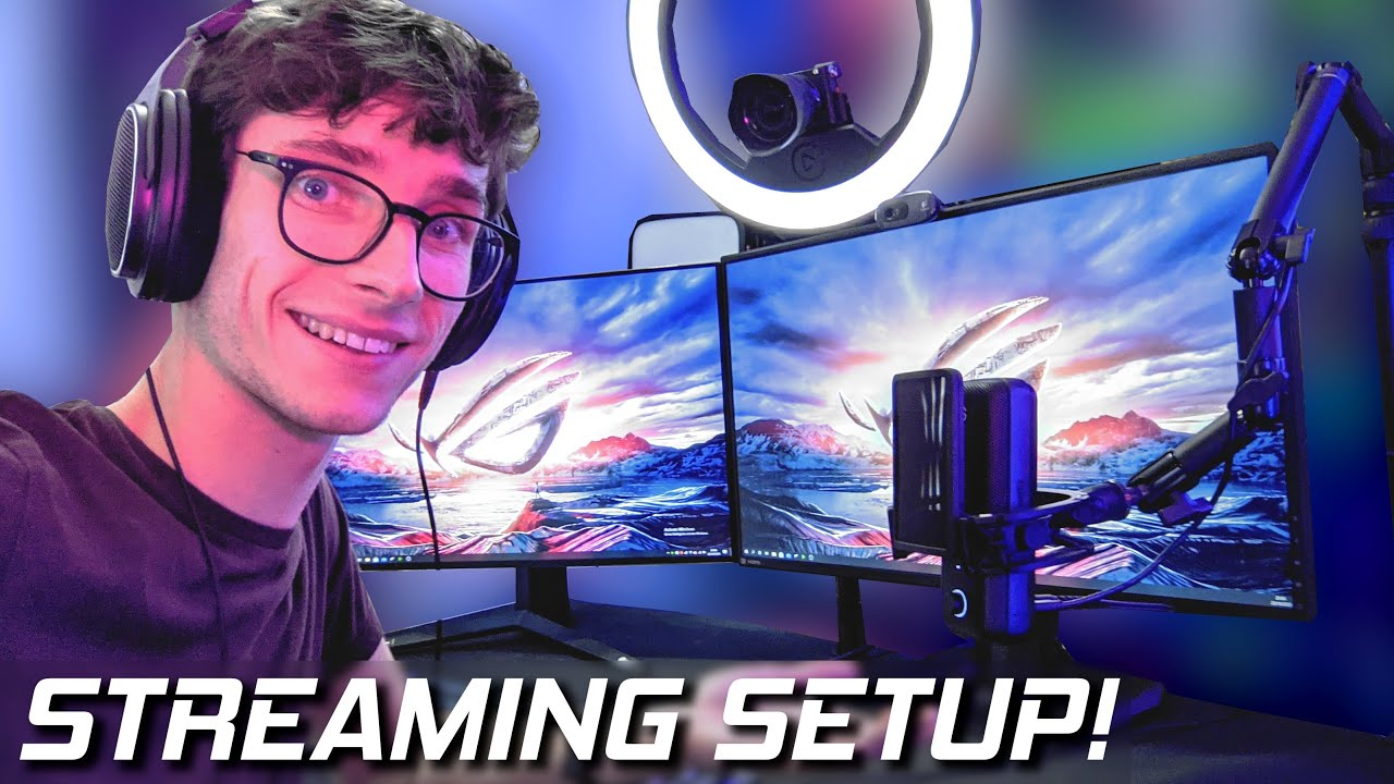 The ULTIMATE PC Gaming Streaming Setup! How To Stream on PC! (Twitch & OBS Setup Tutorial) #AD