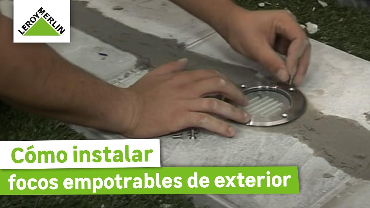 Iluminacion Estanca Baño:Instalar focos empotrables de exterior (Leroy Merlin) – ViYoutube