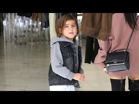 Mason Disick Shouts At Photographers, 'Stop, You Stupid Paps!' While Shopping With Mom