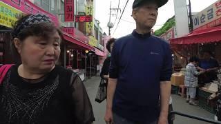 [4K] 봉천역(Feat. 봉천제일종합시장) - Walking around Bongcheon Station, Seoul, Korea