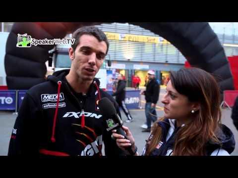 Alex De Angelis motociclista sammarinese ospite al Monza Rally Show 2012