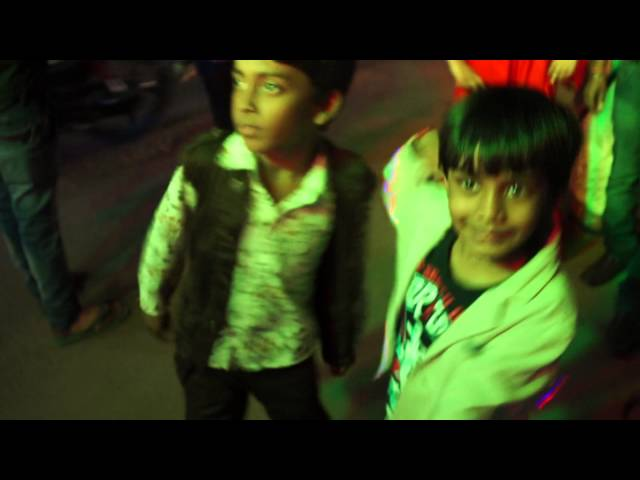 Arnav rocking with his brother in a baaraat