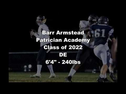 Barr Armstead Highlights Patrician Academy Class of 2022