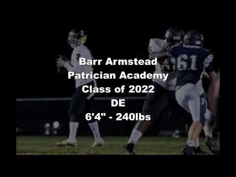 Barr Armstead Highlights Patrician Academy Class of 2022