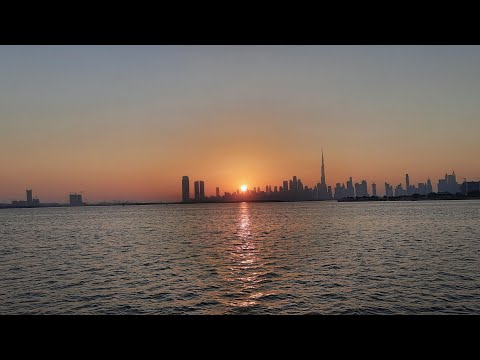 VLOG #5 : Dubai Creek Cruise At Sunset