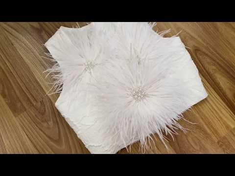 Новогоднее детское Платье Снежинка| Dress Decoration IDEAS