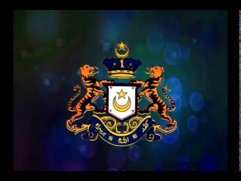 Lagu rasmi negeri JOHOR (lagu bangsa Johor) versi original