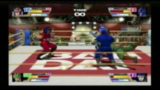 Ultimate Muscle: Legends vs. New Generation 4 Player Battle